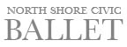Logo for North Shore Civic Ballet